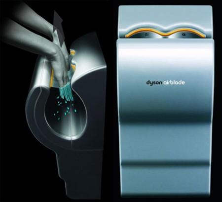 Dyson Airblade AB01 (Farbe: Titan-silber aus Aluminium)